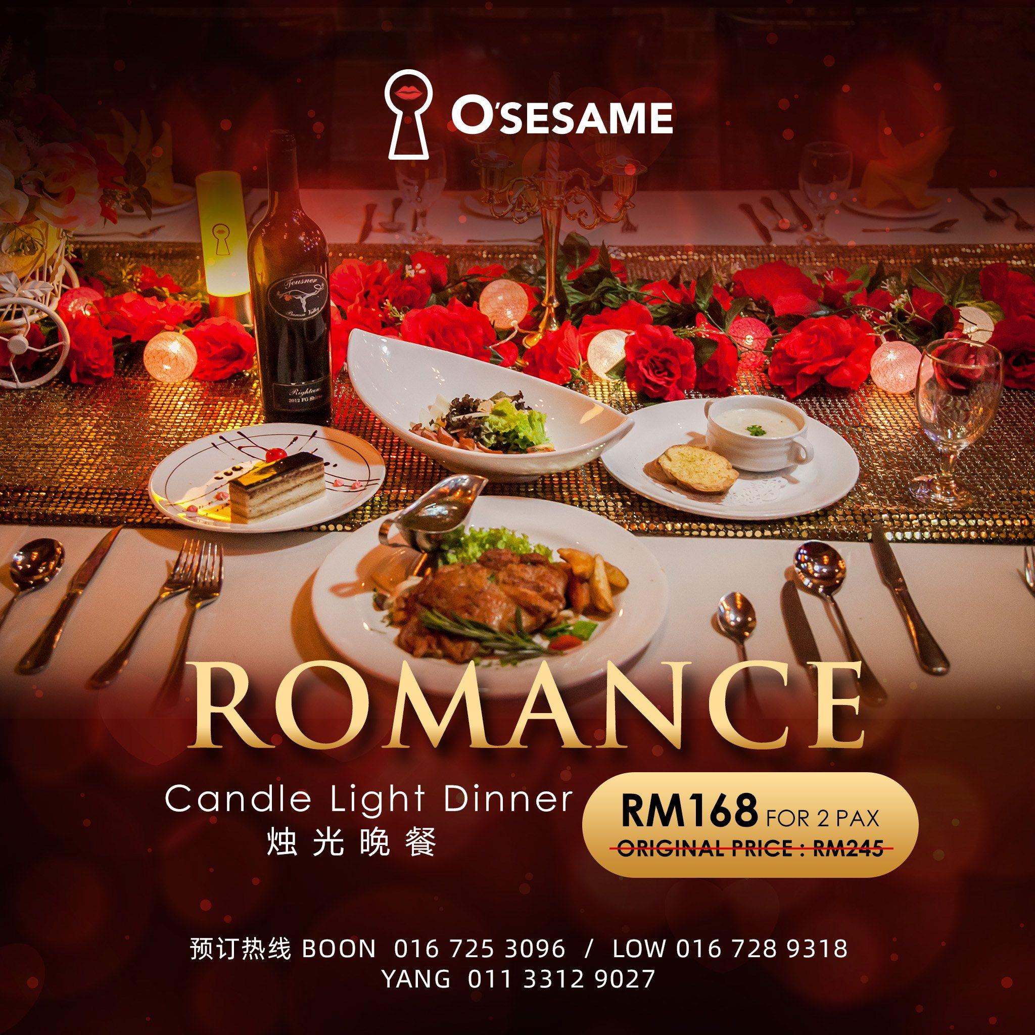 OSS Romance Candle Light Dinner